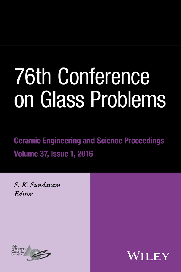 Фото - S. K. Sundaram 76th Conference on Glass Problems, Version A. A Collection of Papers Presented at the 76th Conference on Glass Problems, Greater Columbus Convention Center, Columbus, Ohio, November 2-5, 2015 concise colour block and circle pattern design men s slippers