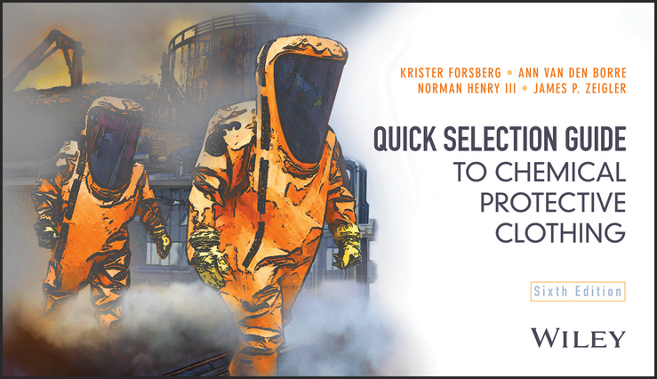 купить Krister Forsberg Quick Selection Guide to Chemical Protective Clothing онлайн