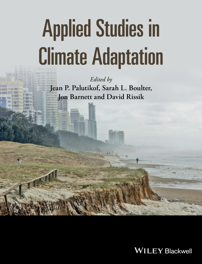 David Rissik Applied Studies in Climate Adaptation economic adaptation to climate change