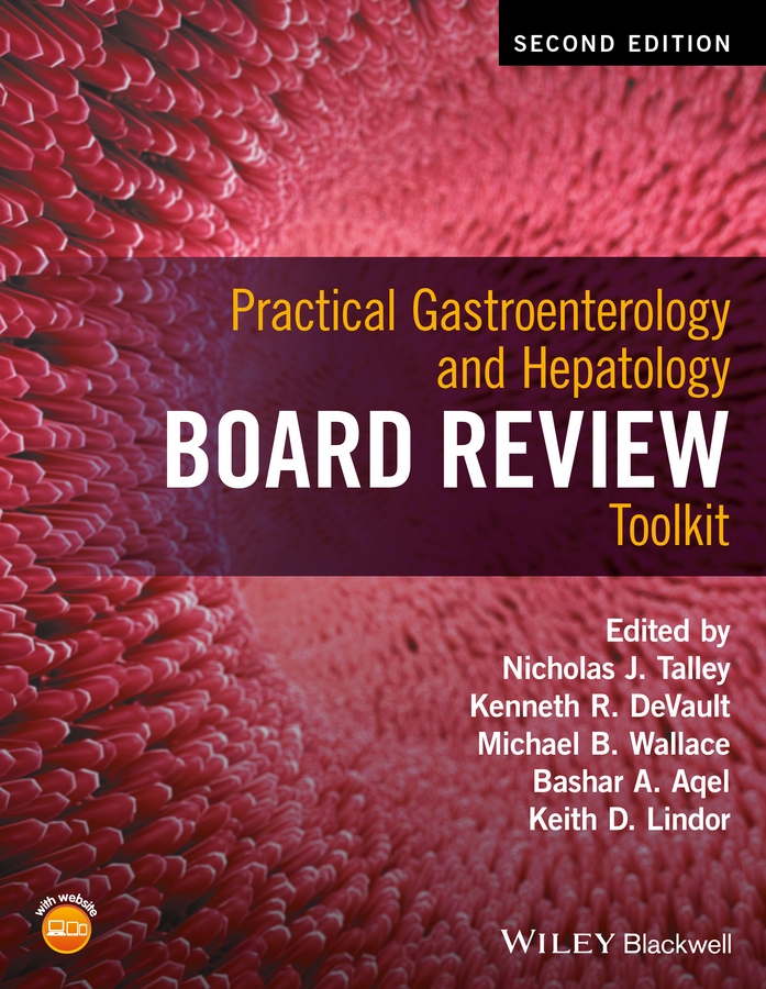 Nicholas Talley J. Practical Gastroenterology and Hepatology Board Review Toolkit lcd board 52nn