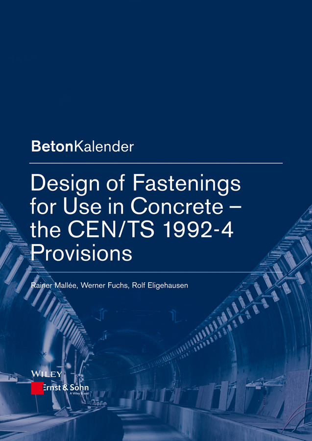 Konrad Bergmeister Design of Fastenings for Use in Concrete. The CEN/TS 1992-4 Provisions malcolm kemp extreme events robust portfolio construction in the presence of fat tails isbn 9780470976791