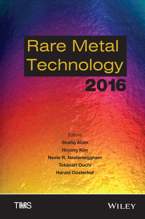 Harald Oosterhof Rare Metal Technology 2016