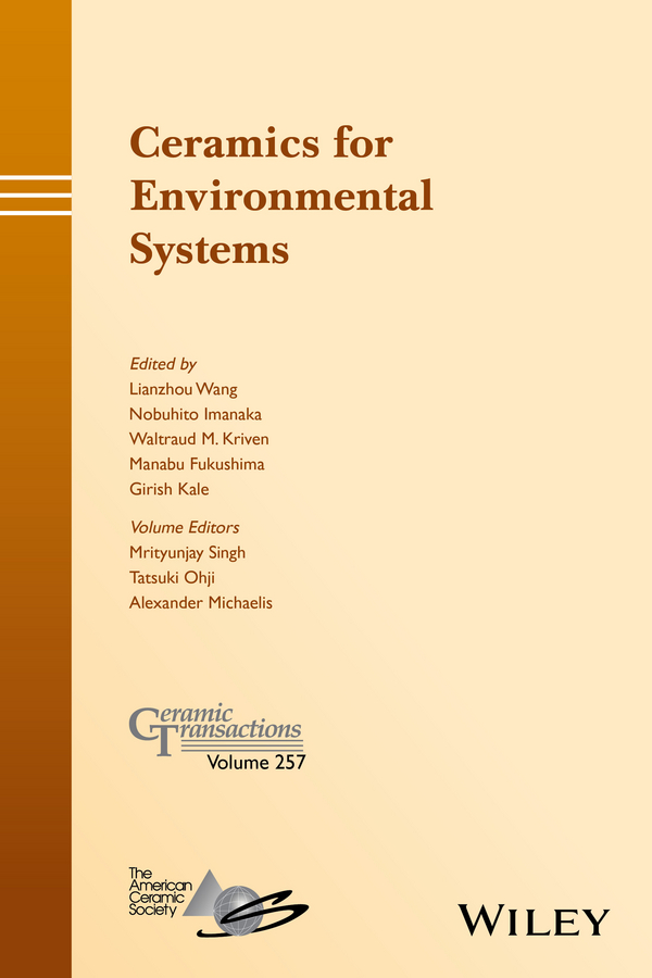 Mrityunjay Singh Ceramics for Environmental Systems george w luther iii inorganic chemistry for geochemistry and environmental sciences fundamentals and applications