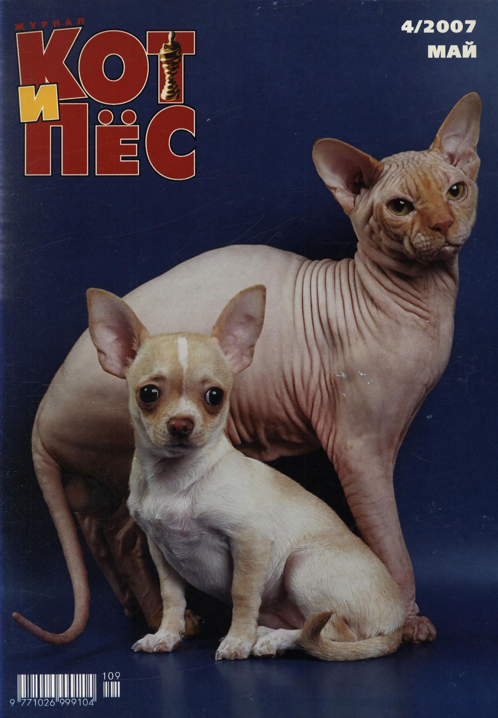 Отсутствует Кот и Пёс №4/2007