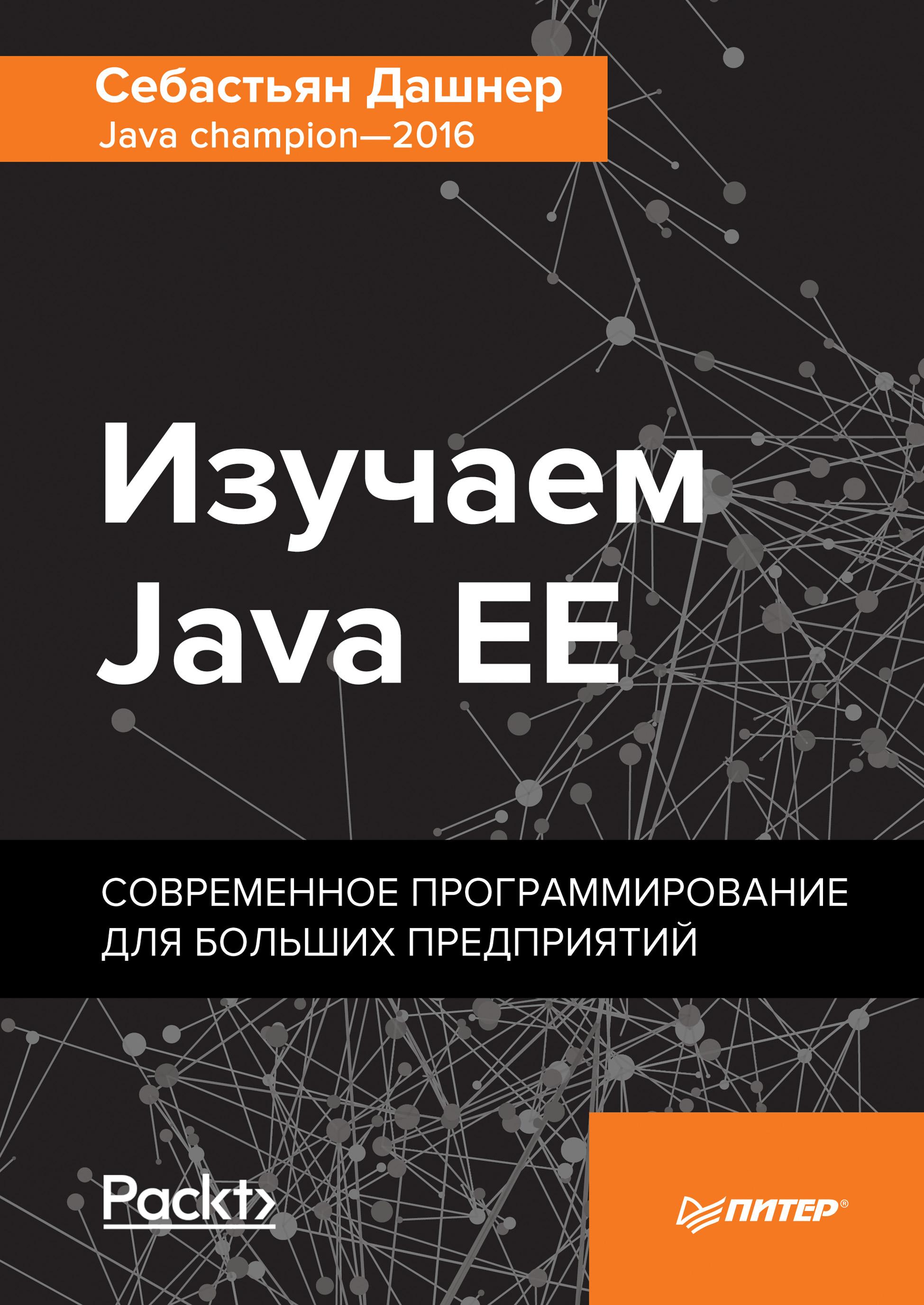 Себастьян Дашнер Изучаем Java EE. Современное программирование для больших предприятий murat yener professional java ee design patterns