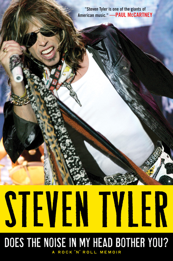 Steven Tyler Does the Noise in My Head Bother You?: The Autobiography