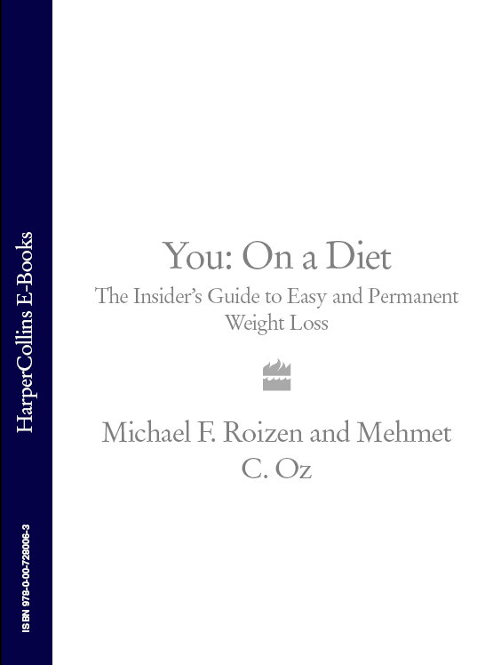 Фото - Michael Roizen F. You: On a Diet: The Insider's Guide to Easy and Permanent Weight Loss barb raveling i deserve a donut and other lies that make you eat a christian weight loss resource