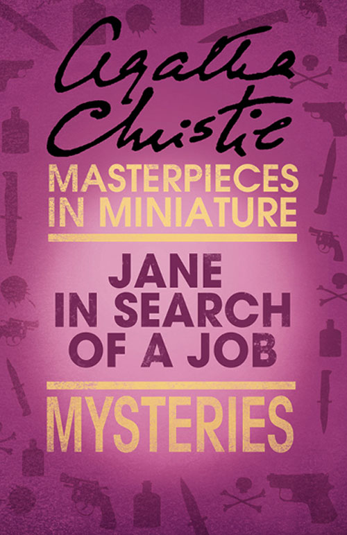 jane in search of a job an agatha christie short story