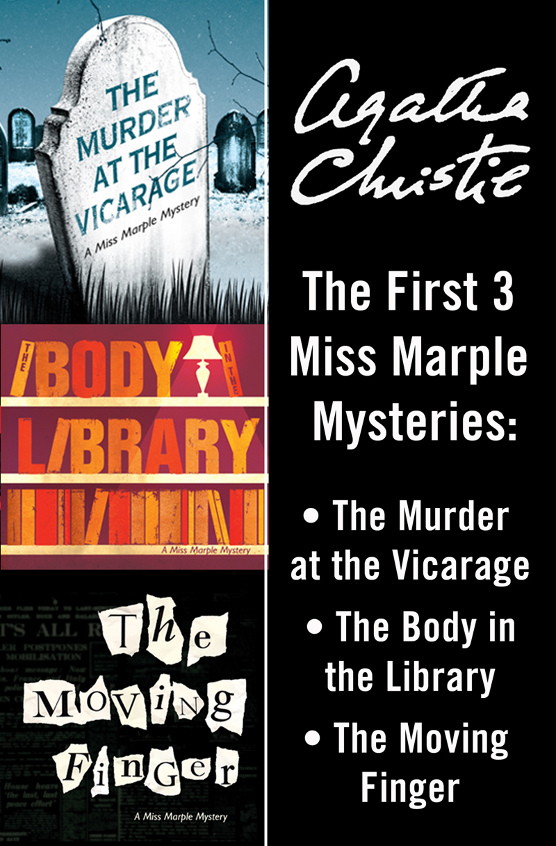 Агата Кристи Miss Marple 3-Book Collection 1: The Murder at the Vicarage, The Body in the Library, The Moving Finger the surrender of miss fairbourne