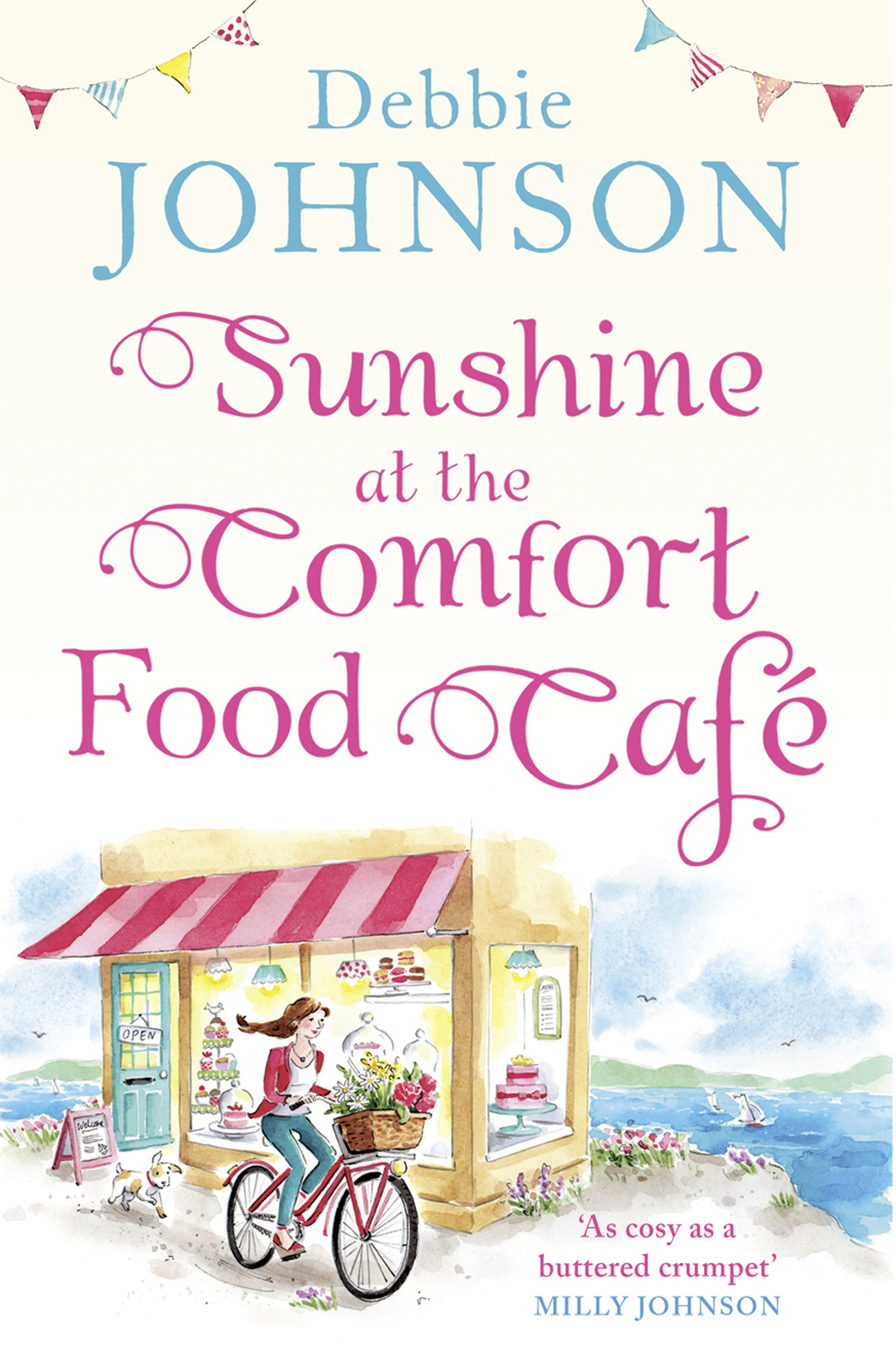 Debbie Johnson Sunshine at the Comfort Food Cafe: The most heartwarming and feel good novel of 2018! sunshine on my shoulders round beach blanket with fringe