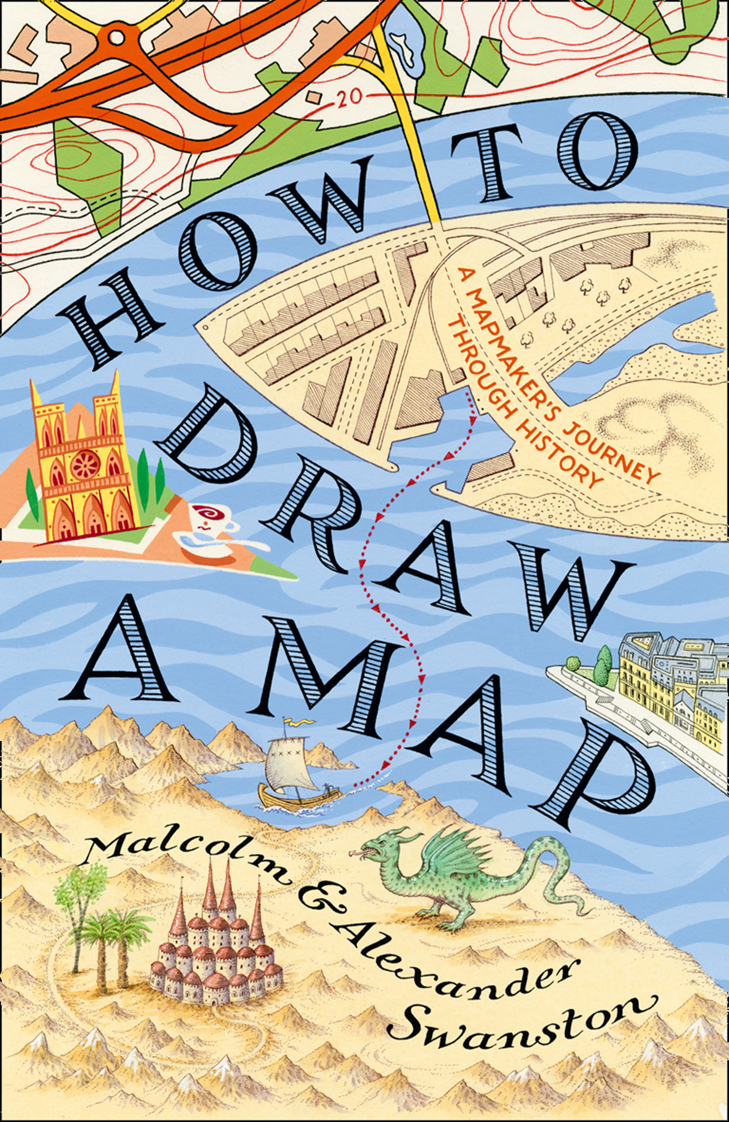 Malcolm Swanston How to Draw a Map how ivan went to see the sun