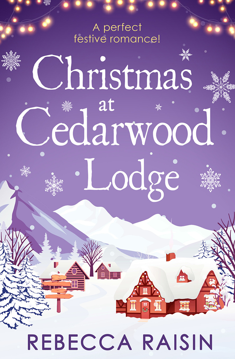 Rebecca Raisin Christmas At Cedarwood Lodge: Celebrations and Confetti at Cedarwood Lodge / Brides and Bouquets at Cedarwood Lodge / Midnight and Mistletoe at Cedarwood Lodge diy wooden family celebrations birthday calendar