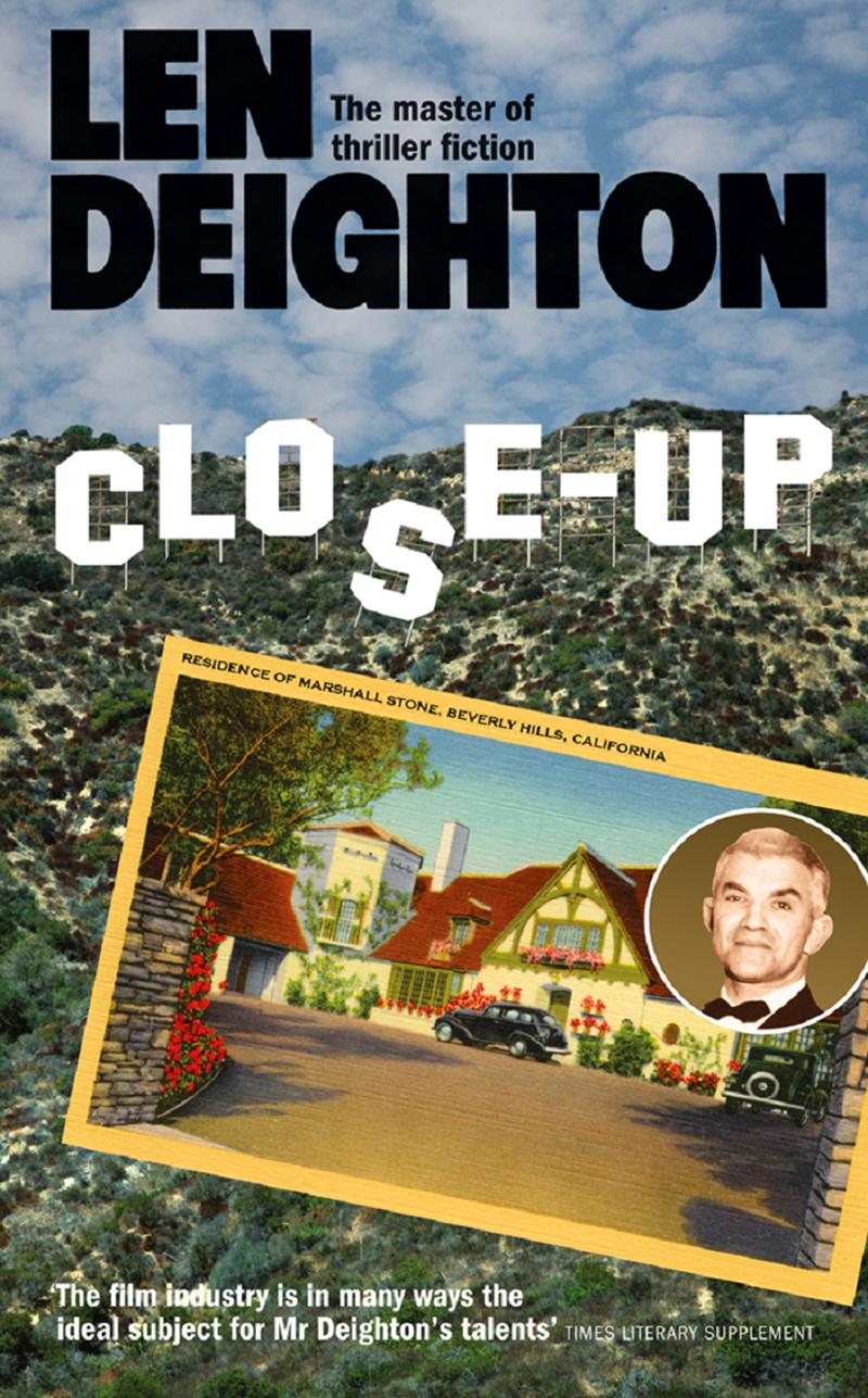 Len Deighton Close-Up len deighton ss gb