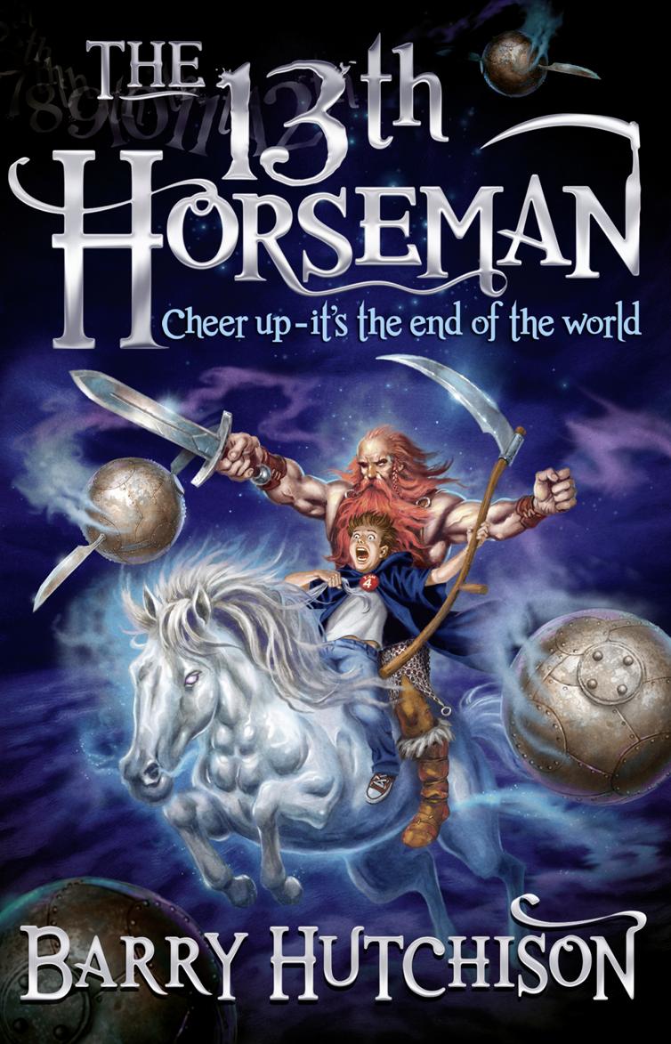 Barry Hutchison Afterworlds: The 13th Horseman the bronze horseman
