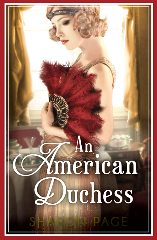 Sharon Page An American Duchess duchess mrs geoffrey