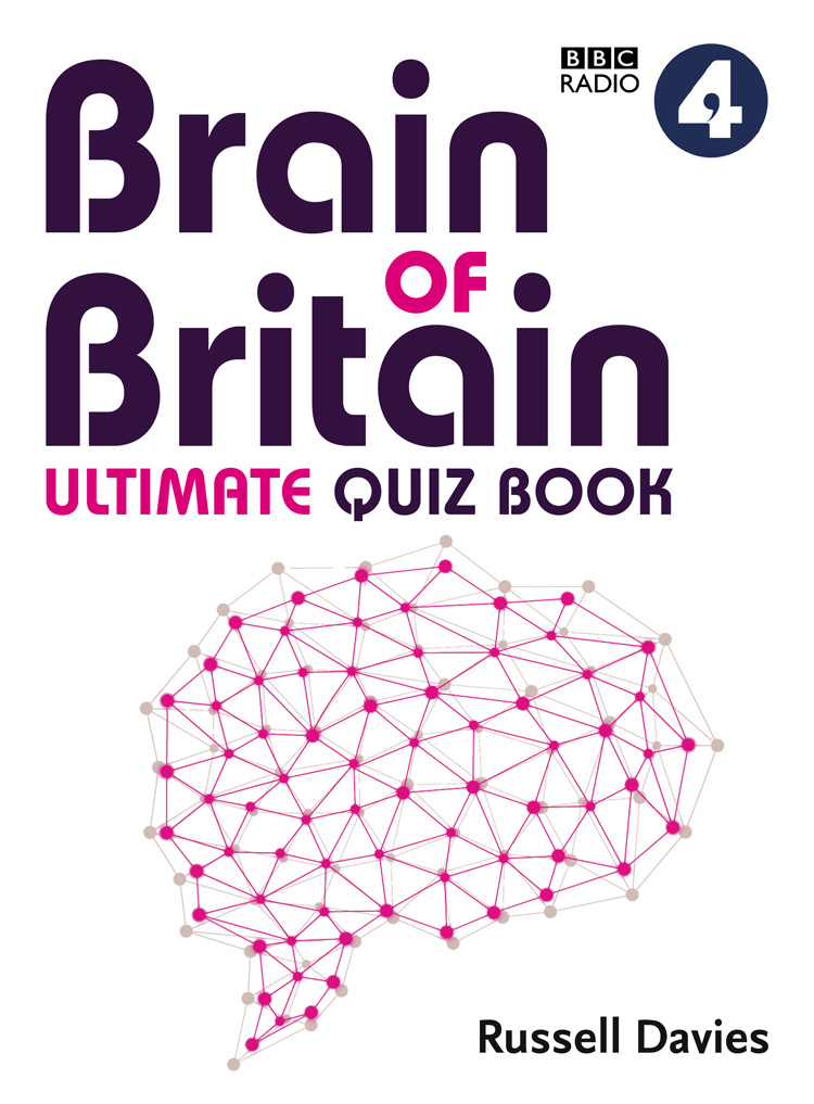 Russell Davies BBC Radio 4 Brain of Britain Ultimate Quiz Book