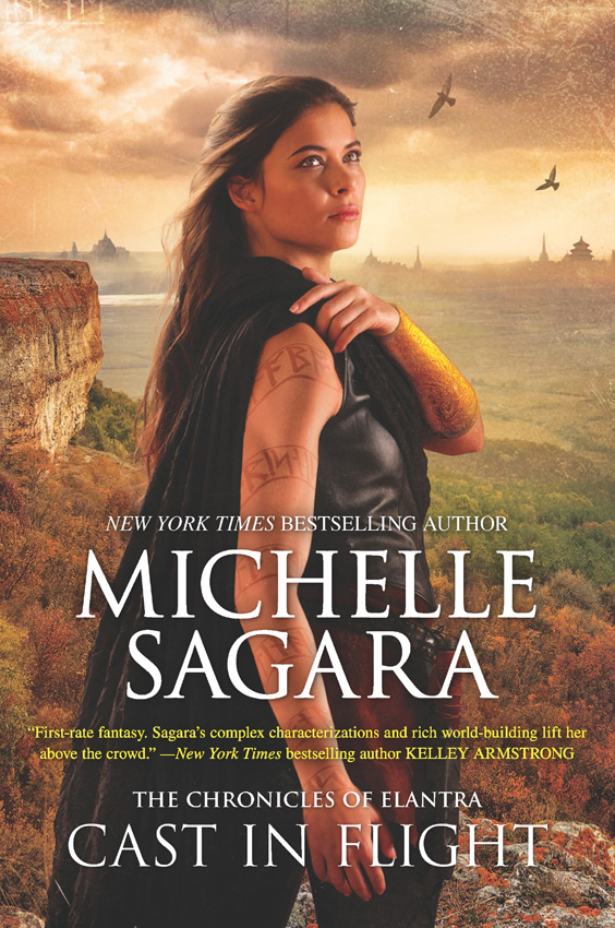 Michelle Sagara Cast In Flight