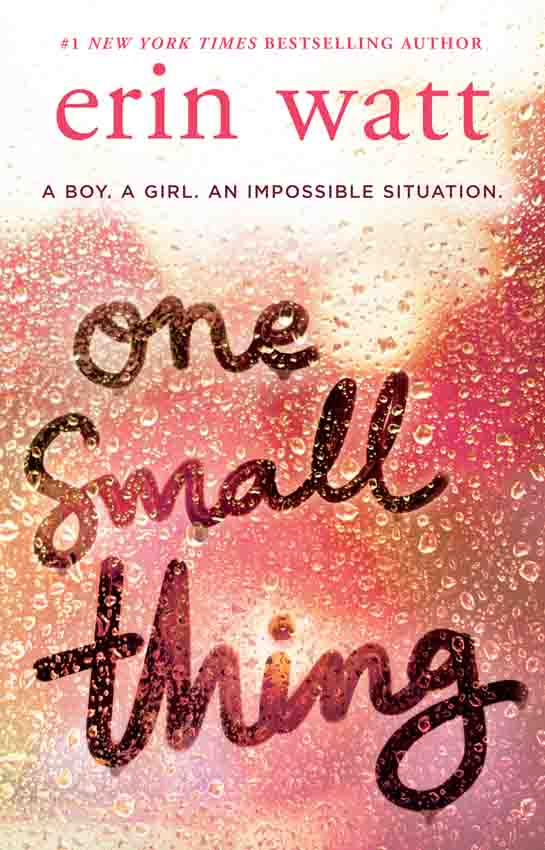 Erin Watt One Small Thing: the gripping new page-turner essential for summer reading 2018! no one the scarred page of smiles