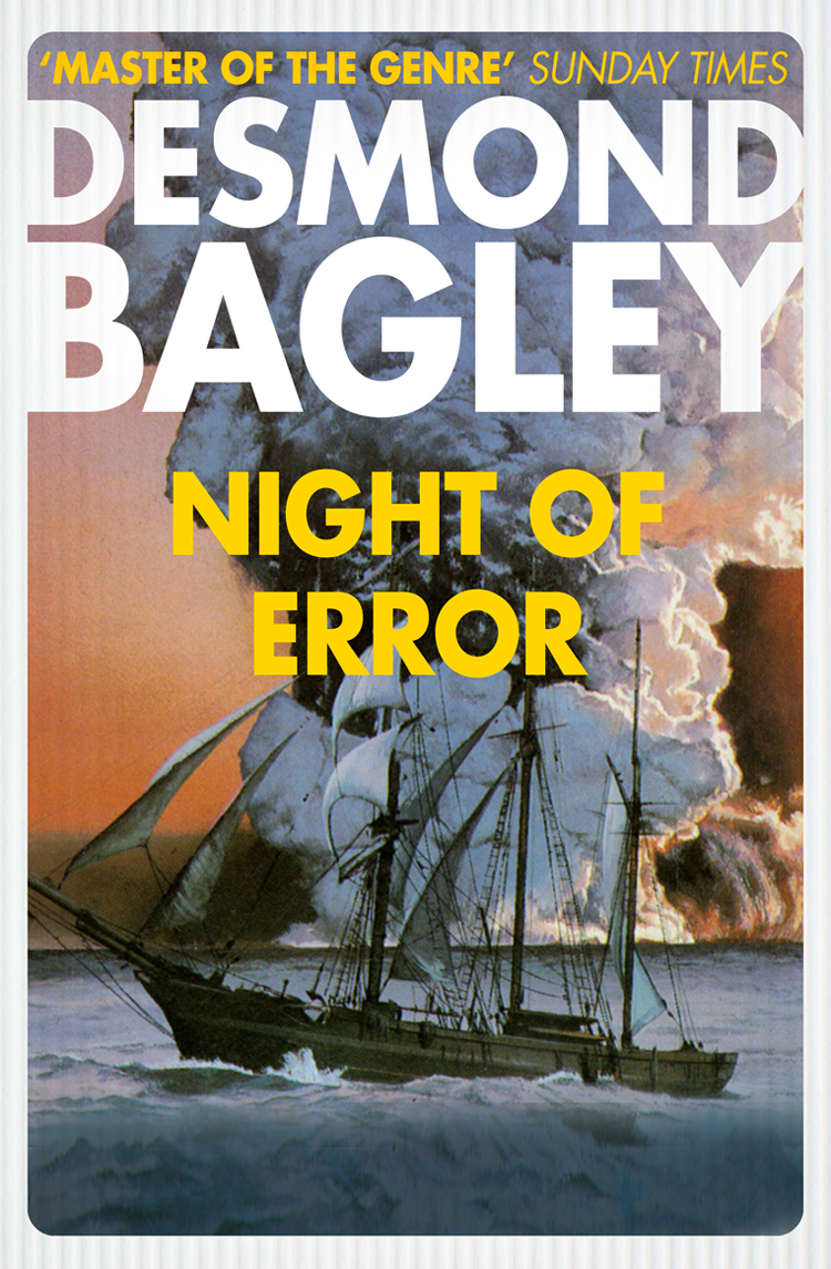 Desmond Bagley Night of Error the verdict
