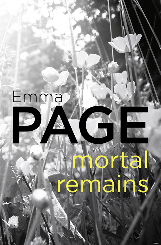 Emma Page Mortal Remains emma page last walk home