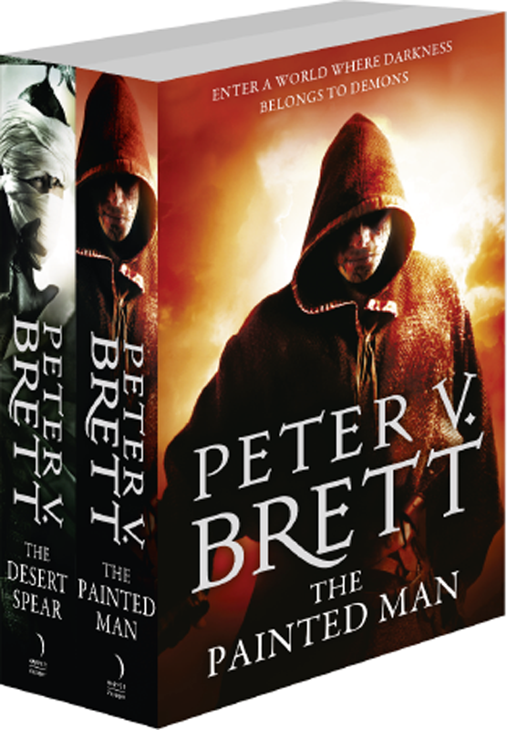 Peter V. Brett The Demon Cycle Series Books 1 and 2: The Painted Man, The Desert Spear