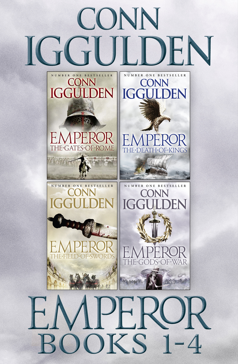 Conn Iggulden The Emperor Series Books 1-4 the emperor and the kite