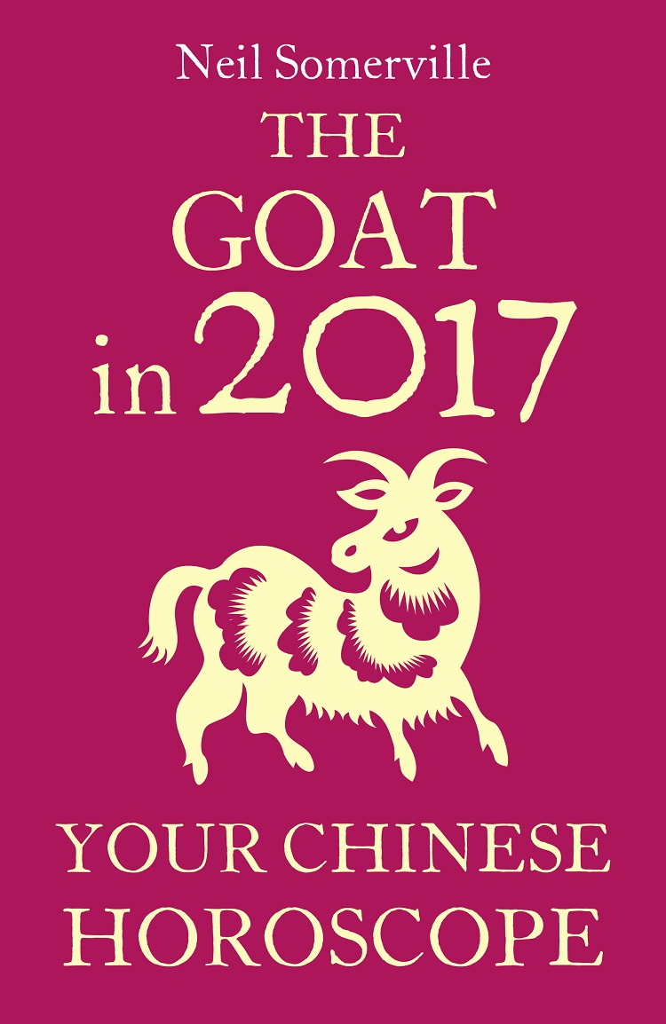 Neil Somerville The Goat in 2017: Your Chinese Horoscope скальп петуха veniard chinese cock cape