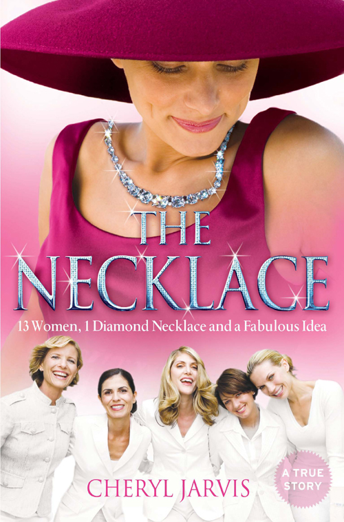 Cheryl Jarvis The Necklace: A true story of 13 women, 1 diamond necklace and a fabulous idea a suit of vintage alloy water drop necklace and earrings for women