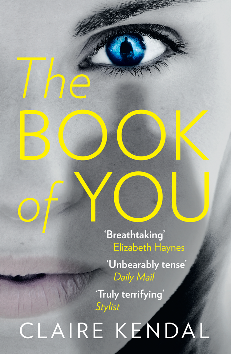 Claire Kendal The Book of You claire kendal the book of you