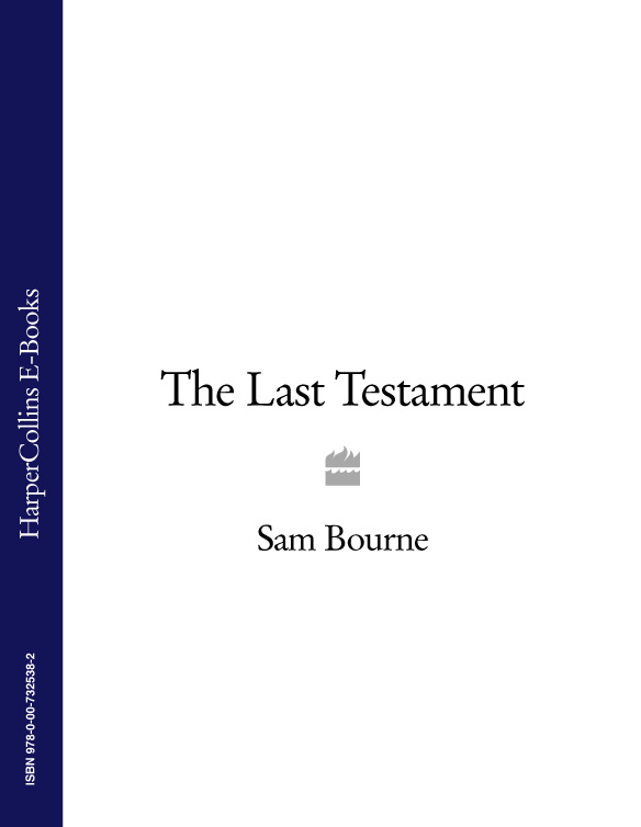Sam Bourne The Last Testament sam bourne the last testament
