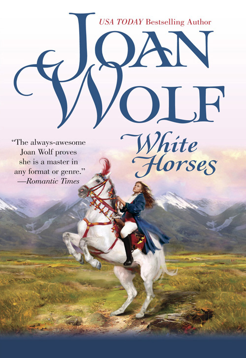 Joan Wolf White Horses white rabbit red wolf