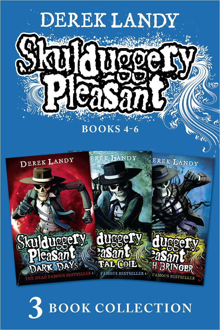 цена Derek Landy Skulduggery Pleasant: Books 4 - 6 онлайн в 2017 году