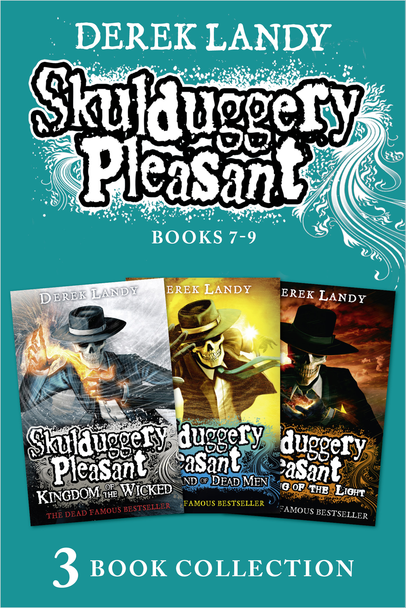 цена Derek Landy Skulduggery Pleasant: Books 7 - 9 онлайн в 2017 году
