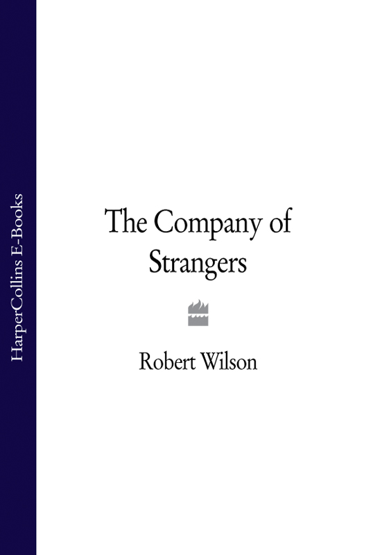 Robert Thomas Wilson The Company of Strangers цена и фото