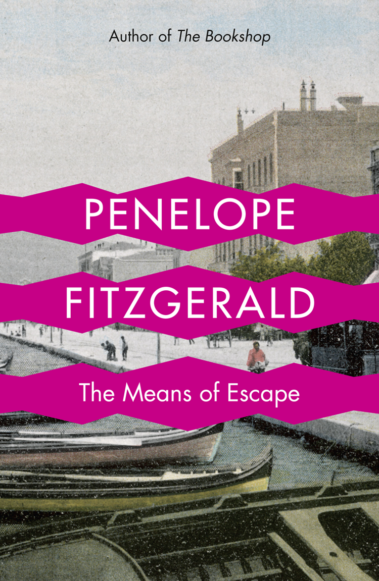 Penelope Fitzgerald The Means of Escape the daring escape of the misfit menagerie