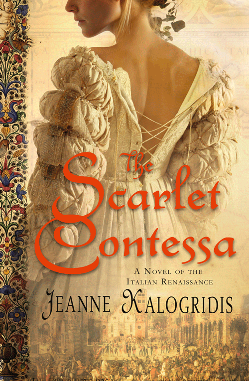 Jeanne Kalogridis The Scarlet Contessa jeanne kalogridis painting mona lisa