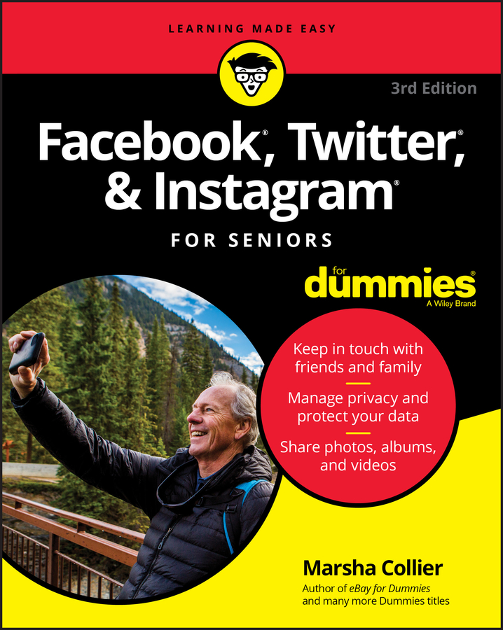 Marsha Collier Facebook, Twitter, and Instagram For Seniors For Dummies brian solis share this too more social media solutions for pr professionals