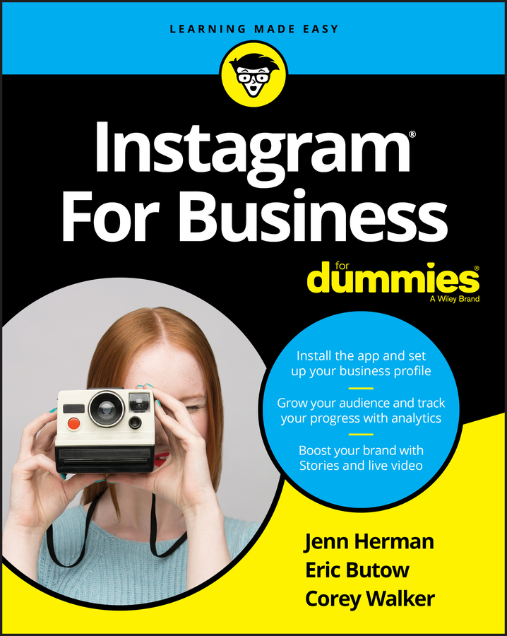 Eric Butow Instagram For Business For Dummies