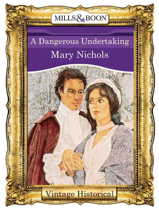 Mary Nichols A Dangerous Undertaking margaret watson a thanksgiving to remember