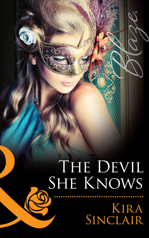 Kira Sinclair The Devil She Knows a stranger in mirror