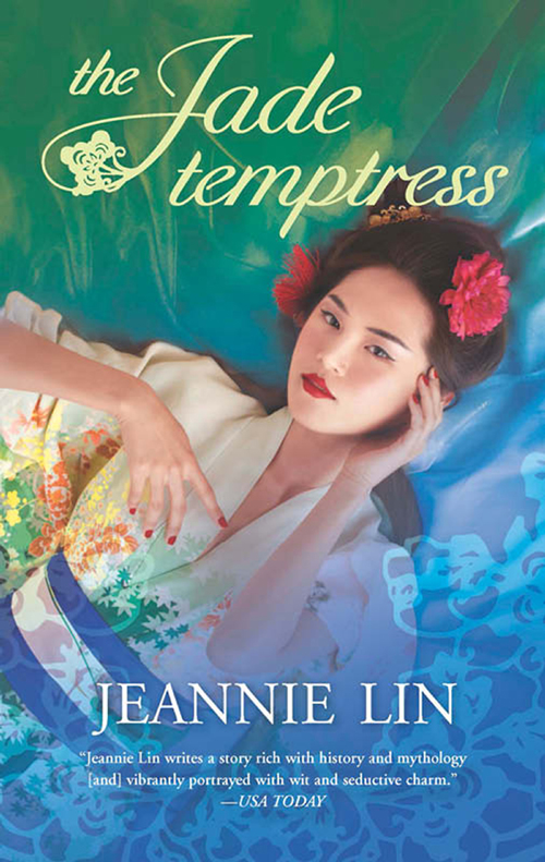 Jeannie Lin The Jade Temptress all wrapped up a nesting place