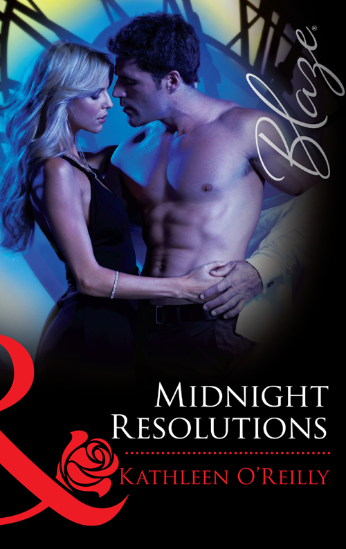 Kathleen O'Reilly Midnight Resolutions the blazing world