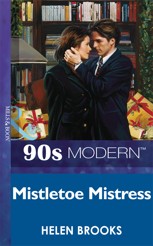 HELEN BROOKS Mistletoe Mistress цена