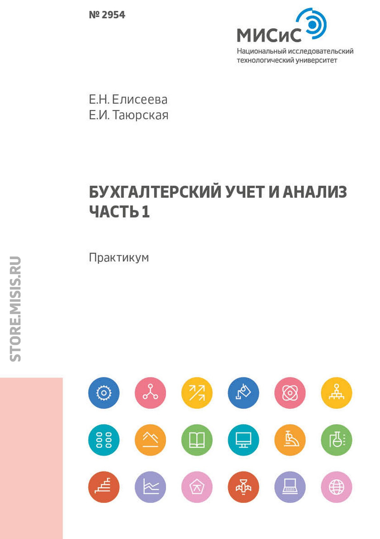 Е. Н. Елисеева Бухгалтерский учет и анализ. Часть 1. Практикум