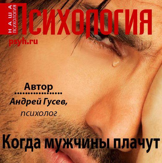 цена на Андрей Гусев Когда мужчины плачут