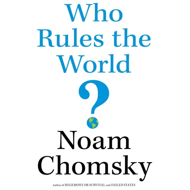 лучшая цена Noam Chomsky Who Rules the World?