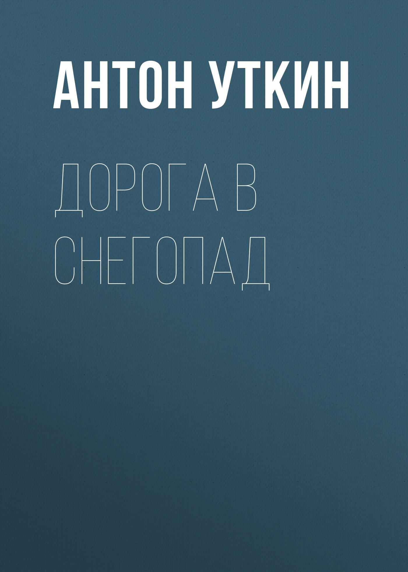 Антон Уткин Дорога в снегопад антон ковалев дорога домой