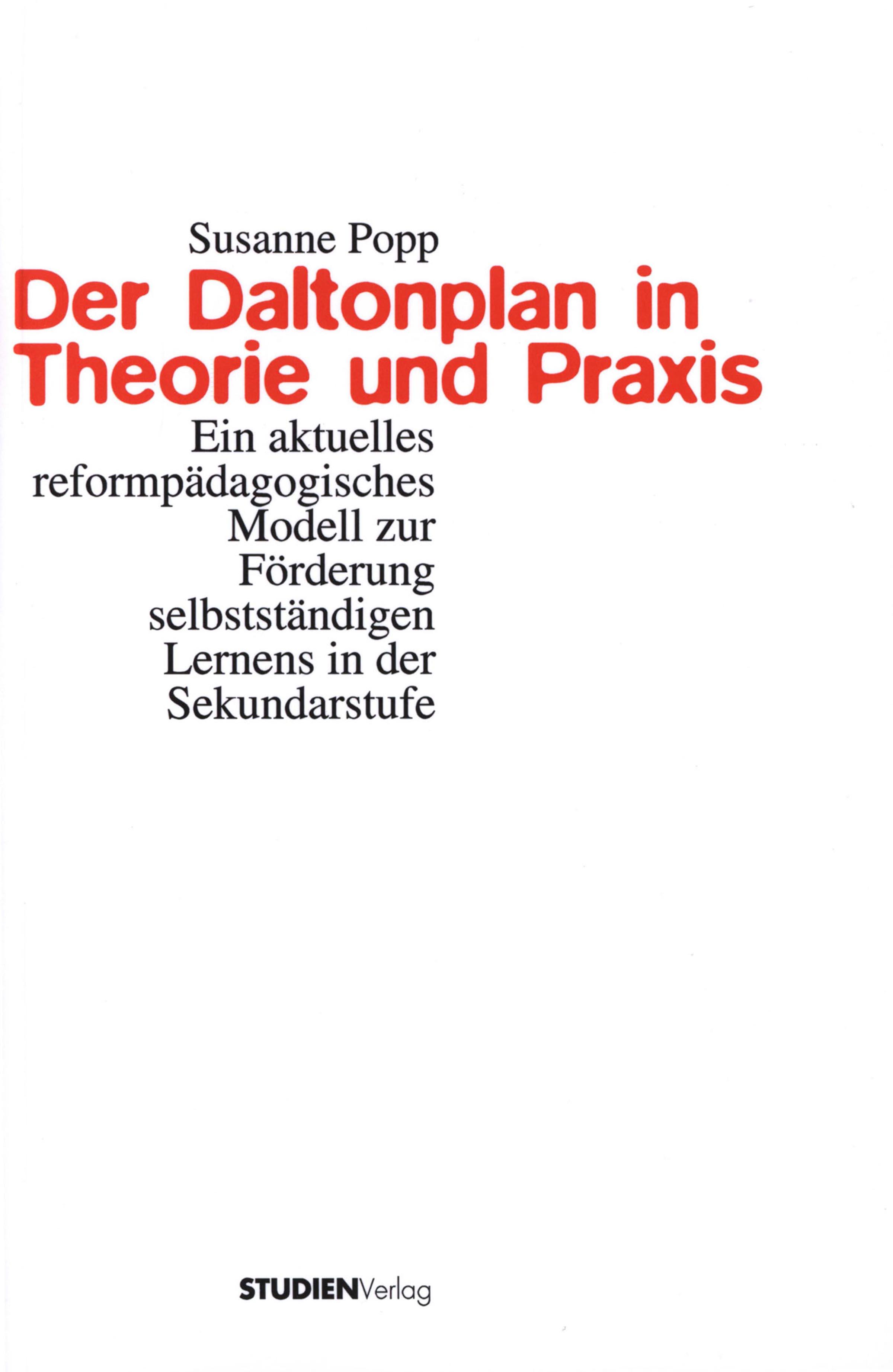 цена Susanne Popp Der Daltonplan in Theorie und Praxis онлайн в 2017 году