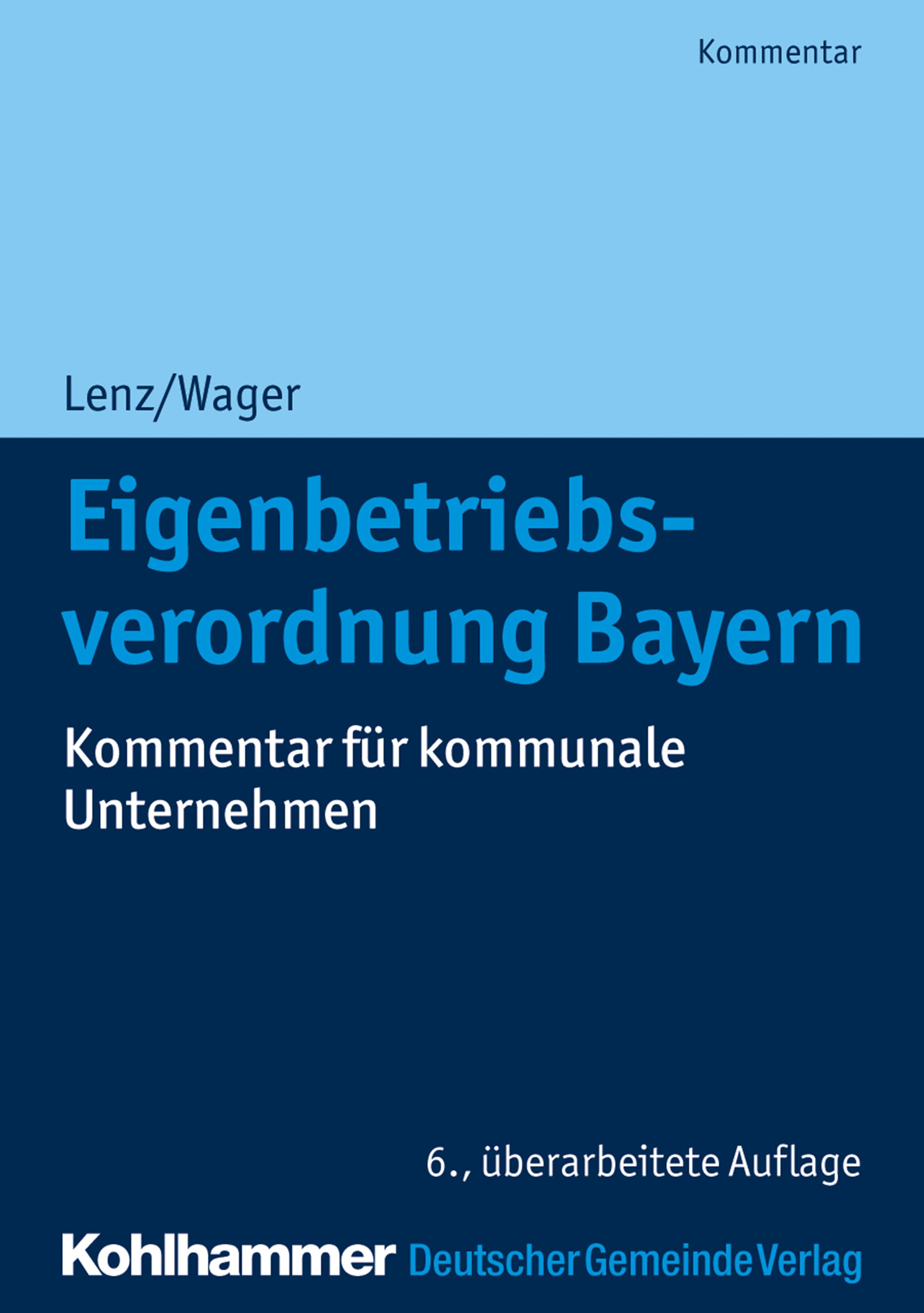 Ulrich Lenz Eigenbetriebsverordnung Bayern стельки lenz lenz с подогревательным элементом heat sole 2 0 36 48
