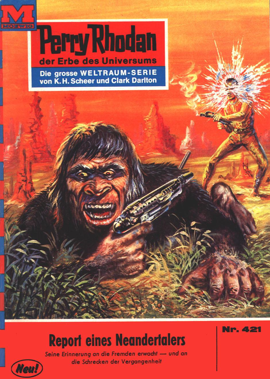 H.G. Ewers Perry Rhodan 421: Report eines Neandertalers h g ewers perry rhodan 514 der weltraumkurier